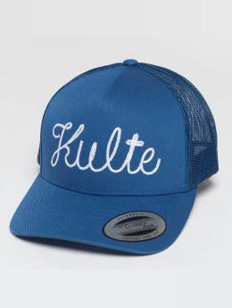 Kulte Trucker Cap Corpo Script blau