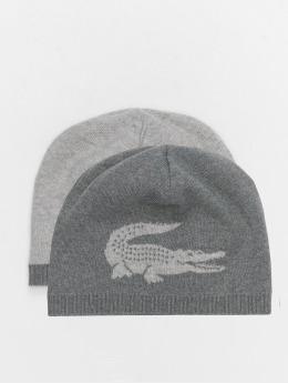 Lacoste шляпа Winter серый