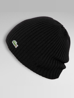Lacoste Beanie Classic Double Rib black