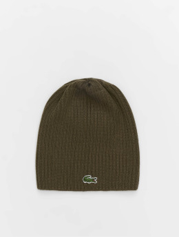Lacoste Beanie Double Rib gris