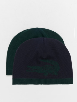 Lacoste Beanie Jacquard Jersey verde