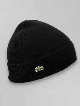 Lacoste Bonnet Half Cardigan Rib noir