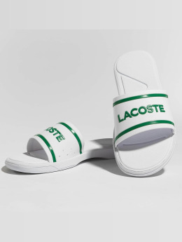 Lacoste Claquettes & Sandales L.30 Slide blanc