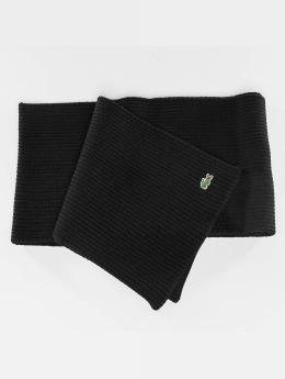 Lacoste Schal Knitted schwarz