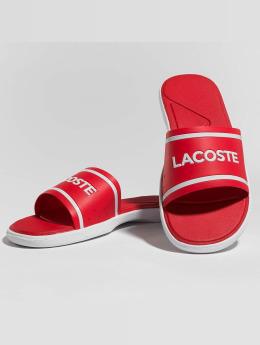 Lacoste Slipper/Sandaal L.30 Slide rood