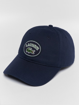 Lacoste snapback cap Patchy blauw