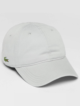 Lacoste snapback cap Classic grijs