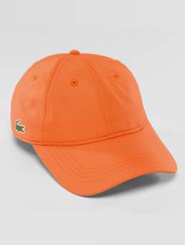 Lacoste snapback cap Basic oranje