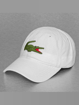 Lacoste Snapback Caps Logo bialy