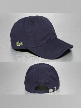 Lacoste Snapback Caps Gabardine Croc Strapback Cap blå