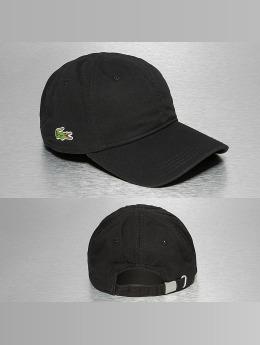Lacoste Snapback Caps Gabardine Croc Strapback Cap musta