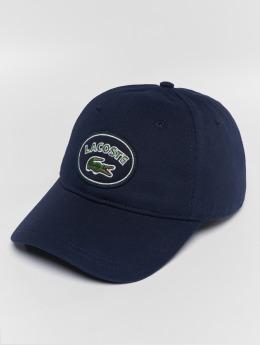 Lacoste Snapback Caps Patchy niebieski