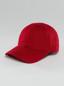 Lacoste Snapback Caps Gabardine Croc red