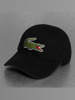 Lacoste Snapback Caps Logo sort