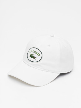 Lacoste Snapback Caps Patchy valkoinen