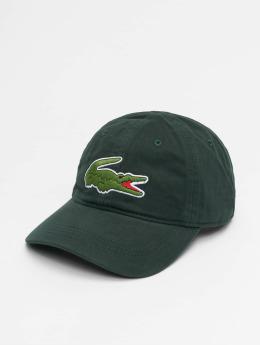 Lacoste Snapback Caps Big Logo zelený