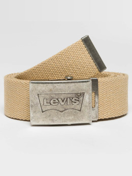 Levi's® Ремень Batwing Web бежевый