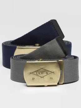 Levi's® Gürtel Reversible Web blau