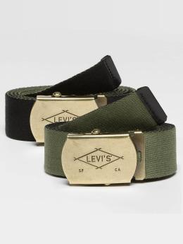 Levi's® Gürtel Reversible Web schwarz
