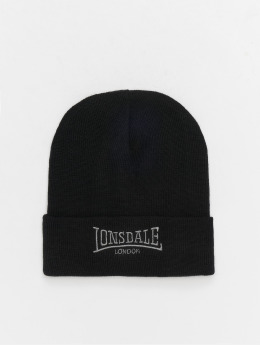 Lonsdale London Beanie Dundee negro