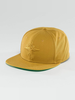 LRG Snapback Cap Research Collection gelb