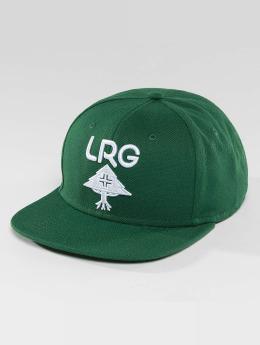 LRG snapback cap Research Group groen
