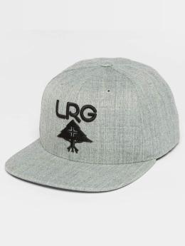 LRG Snapback Caps Research Group harmaa