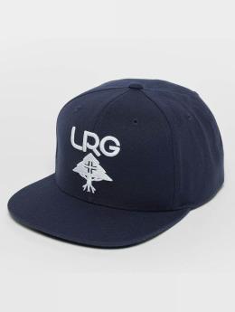 LRG Research Group Snapback Cap Deep Navy/White