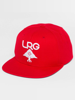 LRG Snapback Caps Research Group punainen