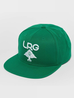 LRG Research Group Snapback Cap Lush Meadow/White