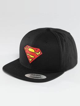 Merchcode Casquette Snapback & Strapback Superman noir
