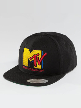 Merchcode Snapback Cap MTV Quilt black