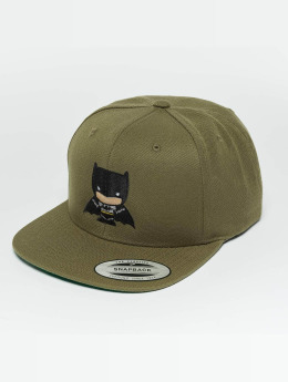 Merchcode snapback cap Batman Comic olijfgroen
