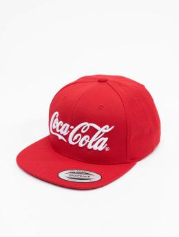 Merchcode Snapback Cap Coca Cola Logo rot
