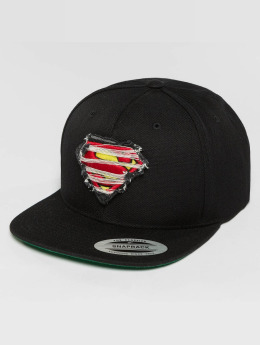 Merchcode snapback cap Superman Destroyed zwart