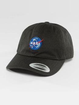Mister Tee Кепка с застёжкой NASA Dad черный