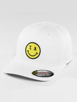 Mister Tee Casquette Flex Fitted LA Smile blanc