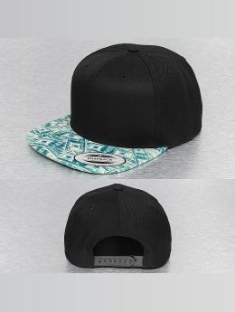 Mister Tee Snapback Cap Dollar schwarz