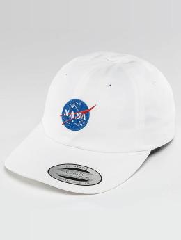 Mister Tee Snapback Cap NASA weiß