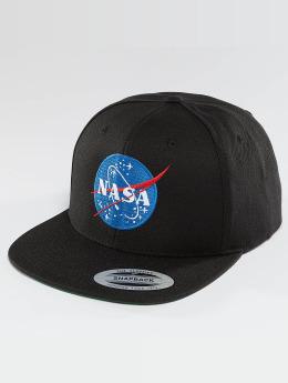 Mister Tee Snapback Caps NASA čern