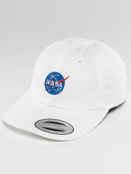 Mister Tee Snapback Caps NASA bílý