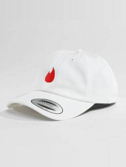 Mister Tee Snapback Caps Fire Dad  bialy