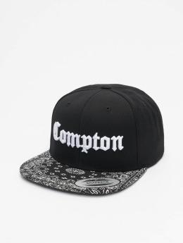 Mister Tee Snapback Caps Compton Bandana czarny