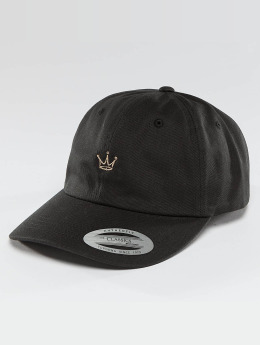Mister Tee Snapback Caps Crown Dad svart