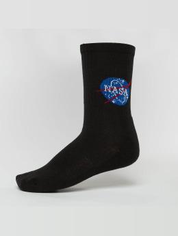 Mister Tee Sokker NASA svart