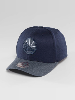 Mitchell & Ness Casquette Snapback & Strapback NBA Heather 2-Tone Golden State Warriors bleu