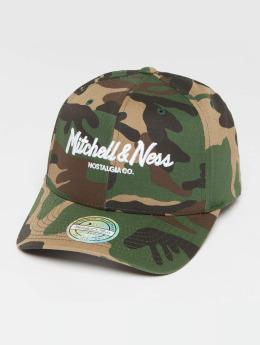 Mitchell & Ness Own Brand Pinscript High Crown 110 Snapback Cap Woodland