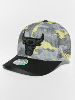 Mitchell & Ness Casquette Snapback & Strapback NBA Flou Camo Chicago Bulls 110 Curved camouflage