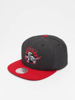 Mitchell & Ness Casquette Snapback & Strapback HWC Toronto Raptors Woven Reflective gris