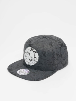 Mitchell & Ness Casquette Snapback & Strapback NBA Golden State Warriors Marble gris